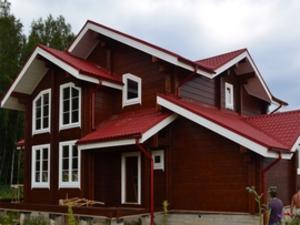 цвета фасадов деревянных домов фото