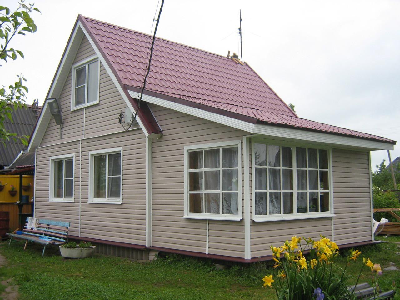 сайдинг на деревянный дом