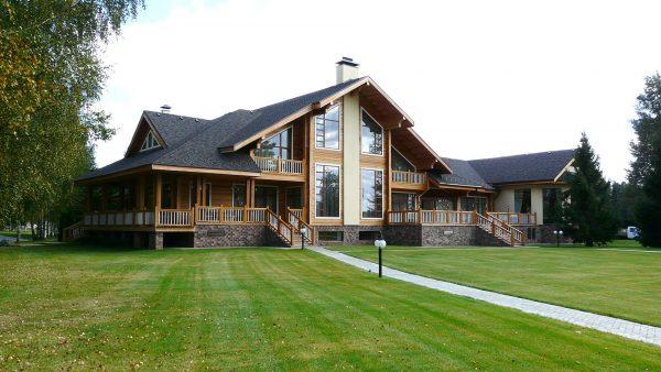 Загородный дом в финском стиле