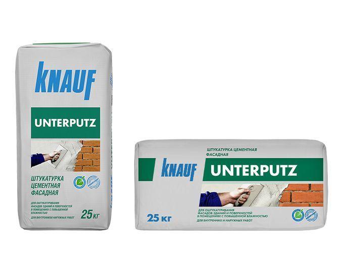 """Штукатурка фасадная """"Унтерпутц"""": преимущества и недостатки, ключевые свойства и пошаговая инструкция по нанесению"""