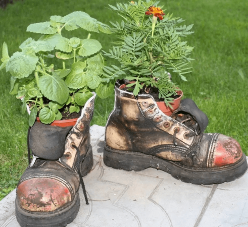 Ботинки-вазоны