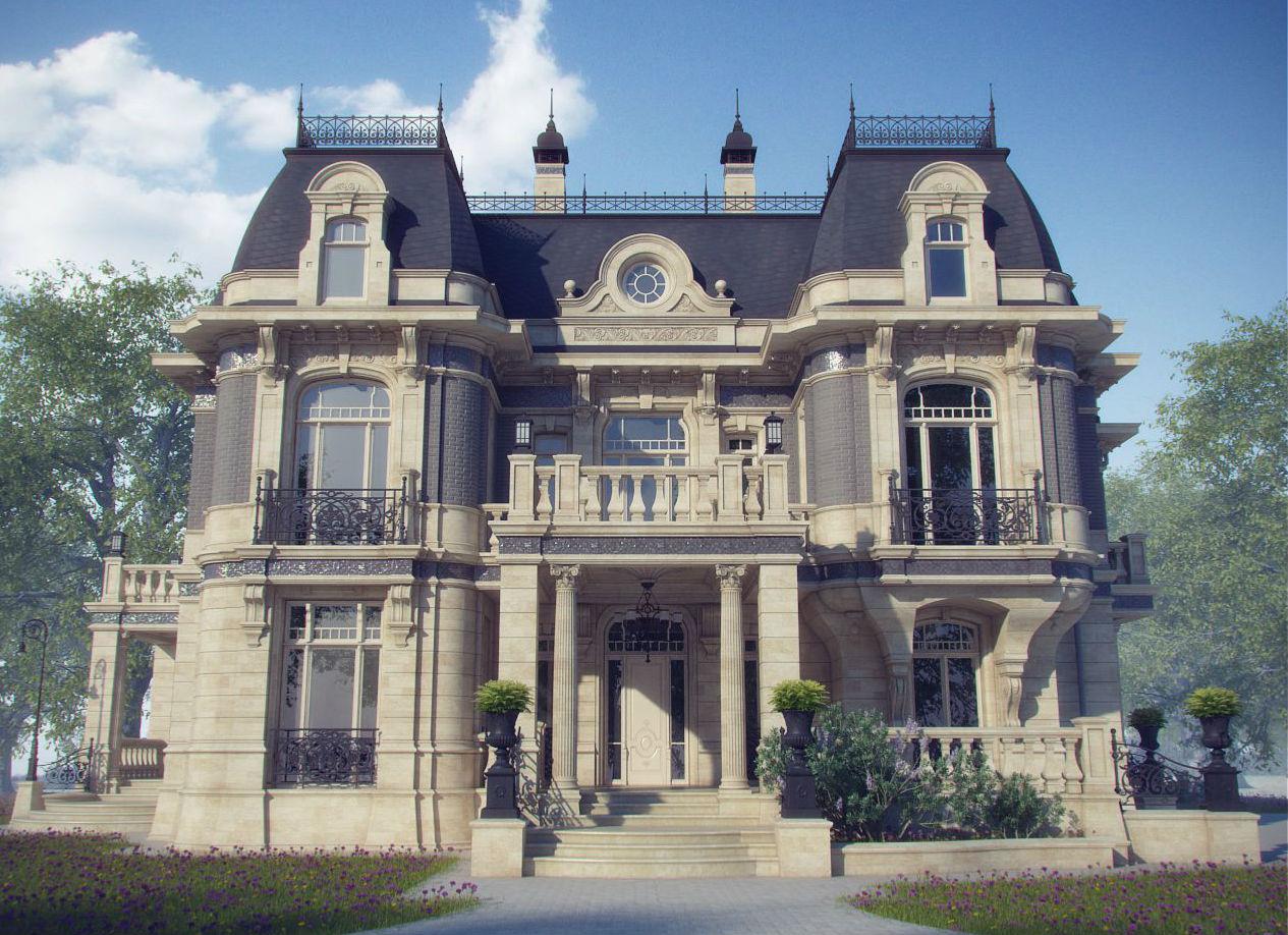 картинка дома в стиле барокко жизнь