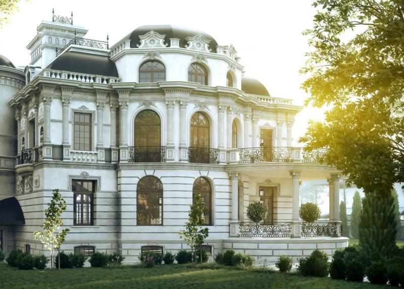 Дома в стиле барокко — фото и отличительные черты