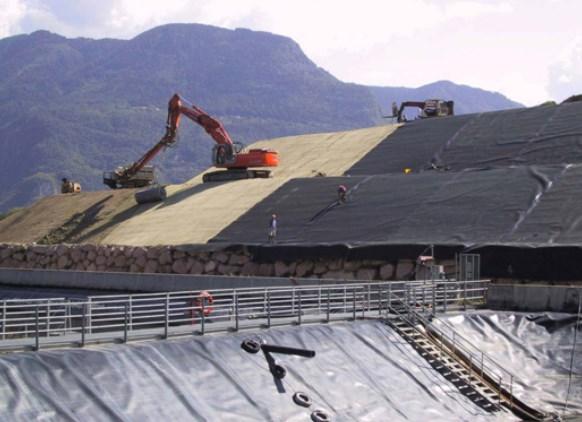 Применение геотекстиля при строительстве автотрасс