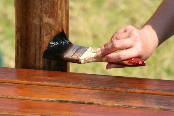 Пропитка древесины для беседки