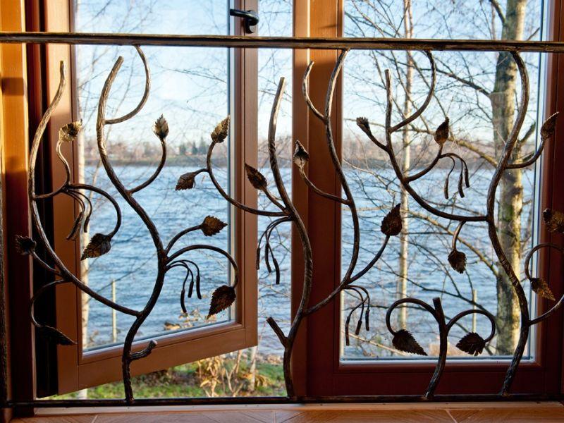 Как сделать решётки на окна своими руками?