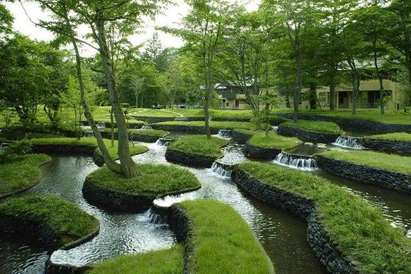 Пруд в японском ландшафтном дизайне