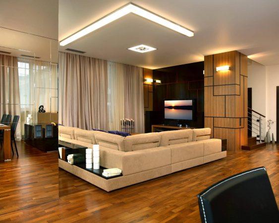 Дизайн помещения в стиле минимализм