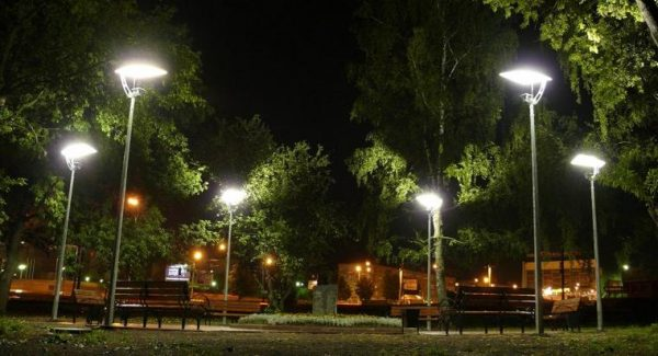 светильники наружного освещения светодиодные