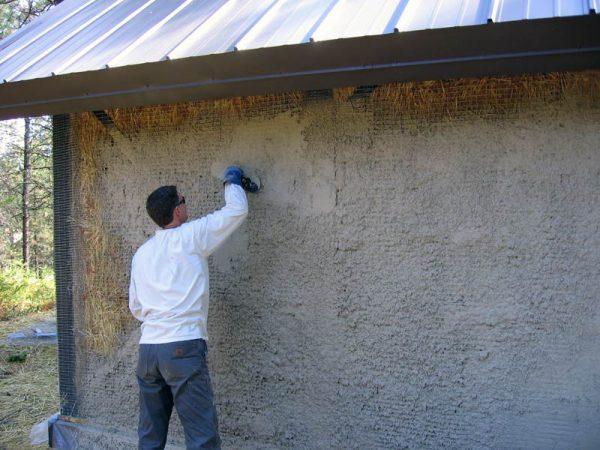 Наружная штукатурка стен