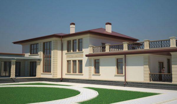 дизайн домов и коттеджей снаружи