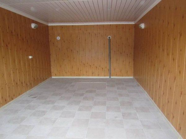Утеплённый гараж