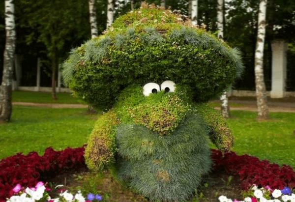 Лесовичок из травы