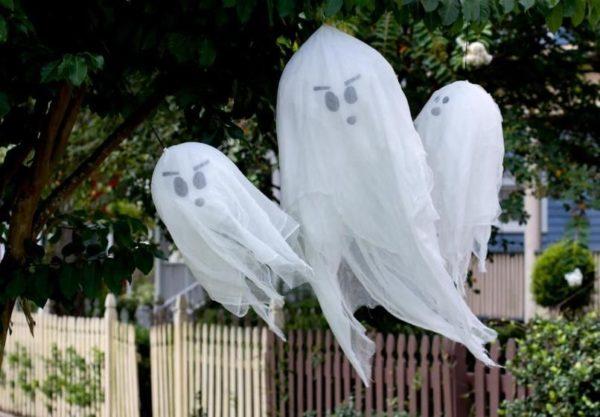 призраки из воздушных шариков