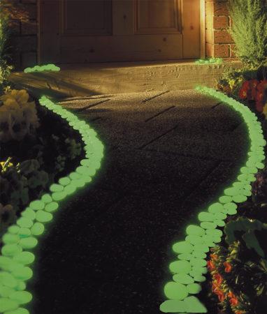 Декоративные светодиодные камни
