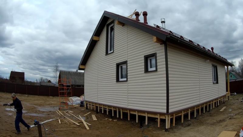 Чем дешевле обшить каркасный дом снаружи: бюджетные материалы и их характеристики