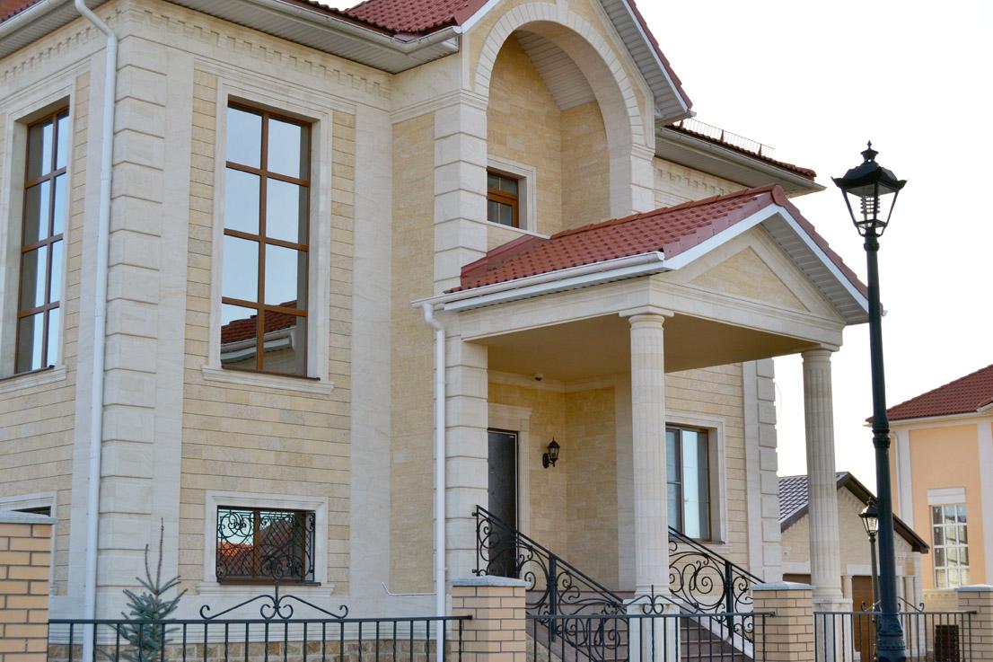 дагестанский камень для фасада фото