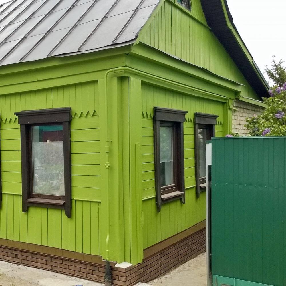 покраска садовых домиков фото усади