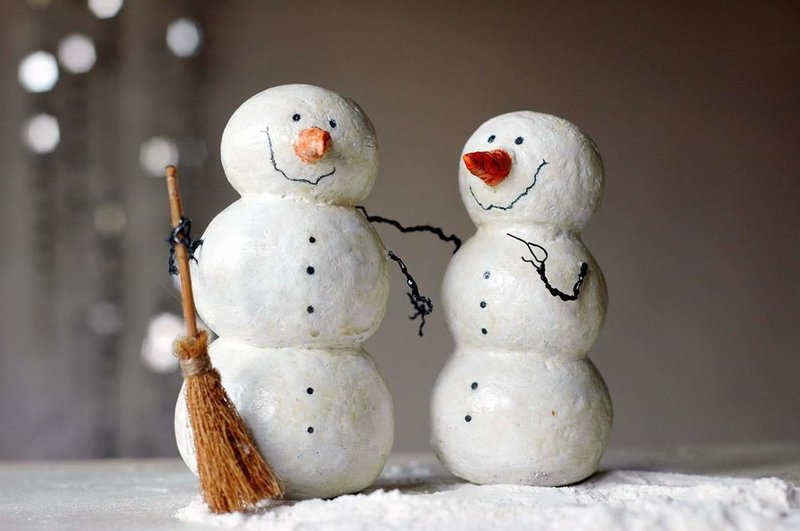 Снеговик на Новый 2019 год своими руками — фотоидеи