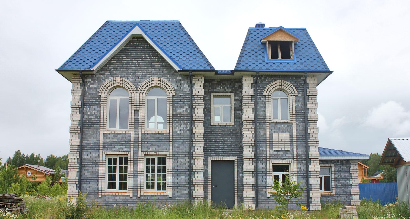 дома из керамзитного блока фото