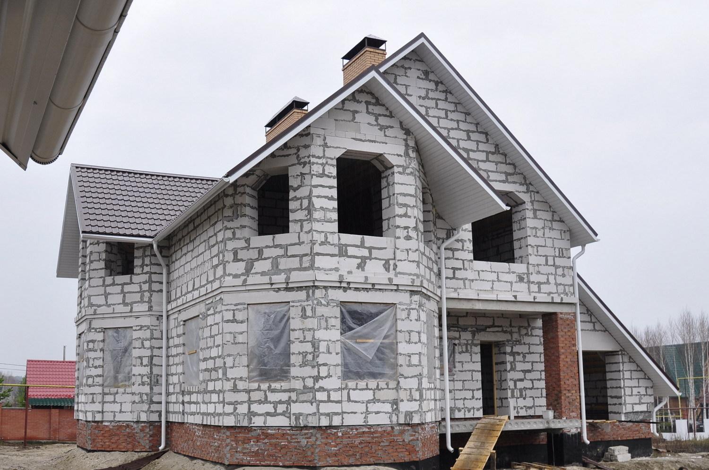 бюджетный дом из газобетона
