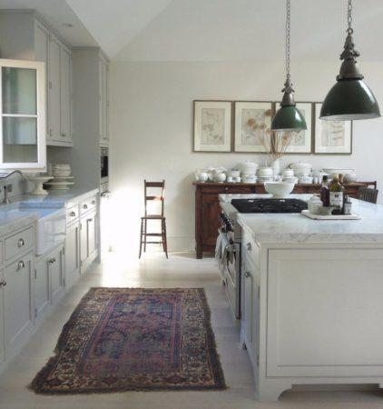 ковры в интерьере в стиле прованс