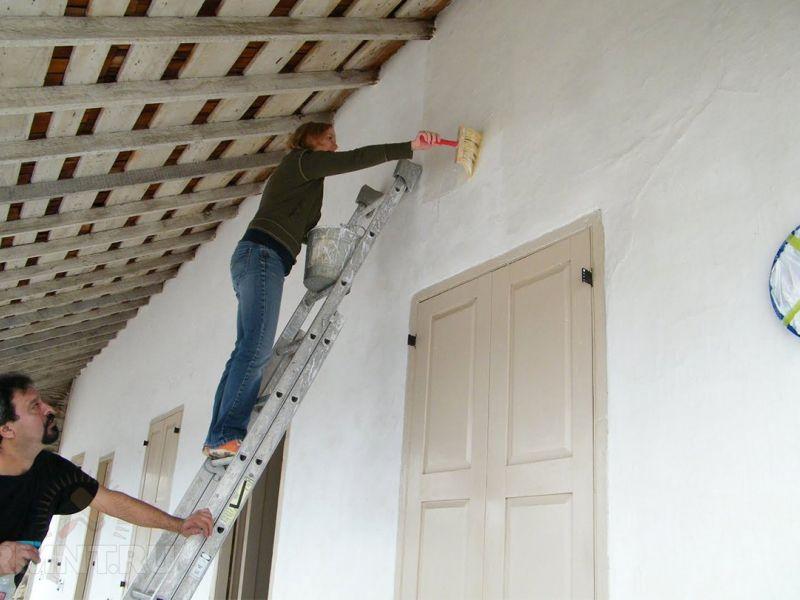 Как быстро побелить стены: рекомендации от опытных строителей