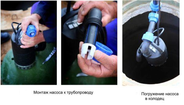 как провести воду в дом от колодца