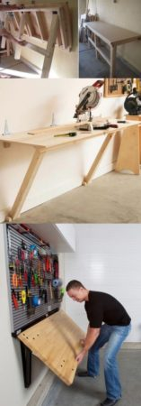 оформление рабочего места в гараже