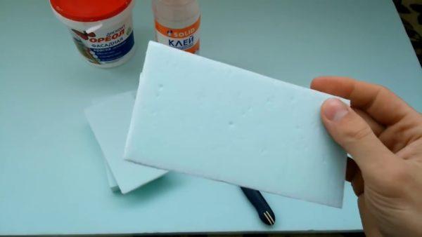 Материалы для изготовления кирпича из пенопласта