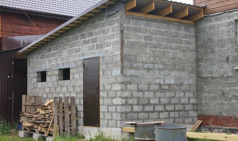 Из чего сделать стены сарая дёшево: лучшие варианты