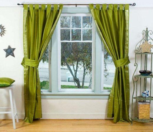 Как красиво повесить шторы на окна