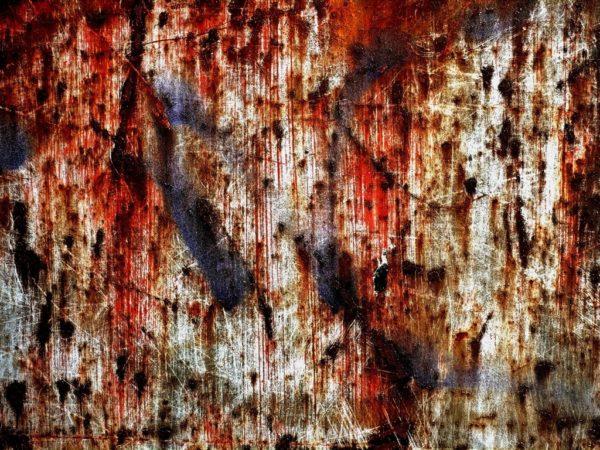 Ржавая текстура на стене