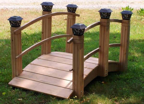 декоративный садовый мостик