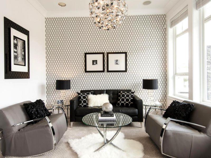 Как выделить одну стену в гостиной: новое веяние в интерьерной моде