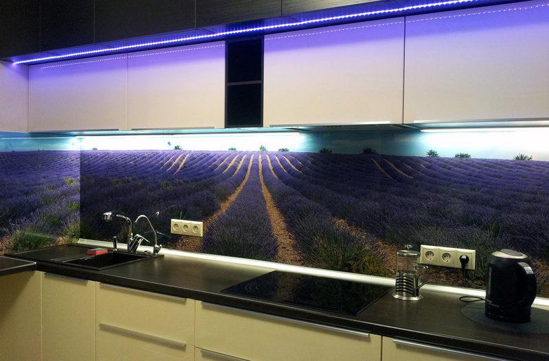 Чем заменить кафельную плитку на кухне: фотоидеи