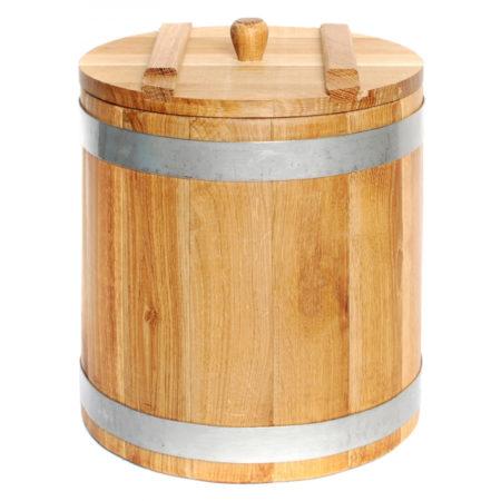 деревянная банка