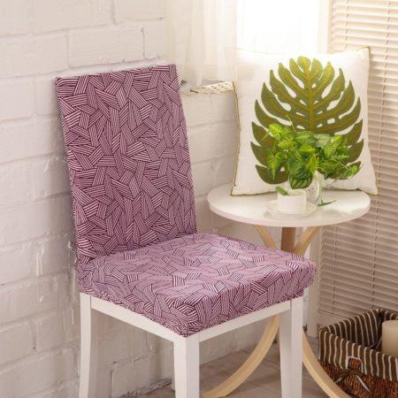 чехол на стул из обрезков штор