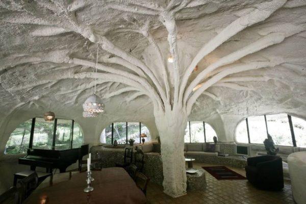Дом-гриб в парке «Паудер Миллс»