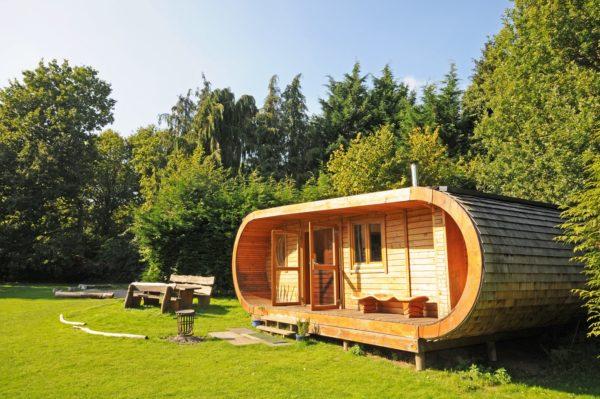 Необычные дома из дерева