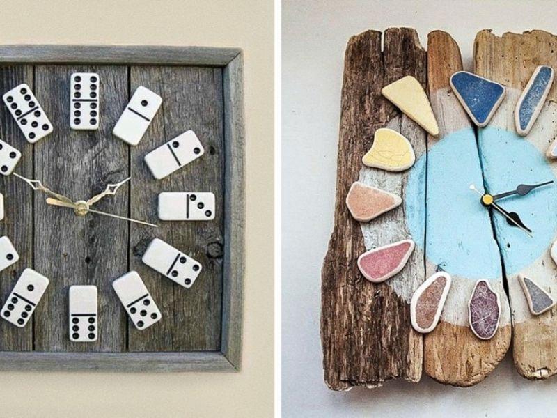 Идеи по изготовлению настенных часов своими руками
