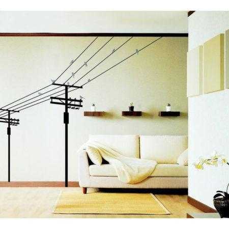 Наклейка для декора кабеля