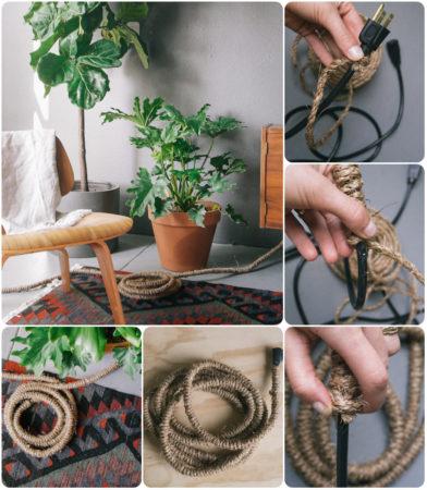 Декор кабель