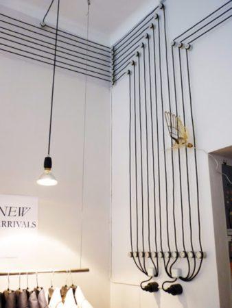 Декор из кабеля
