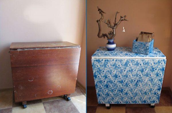 Переделанный стол