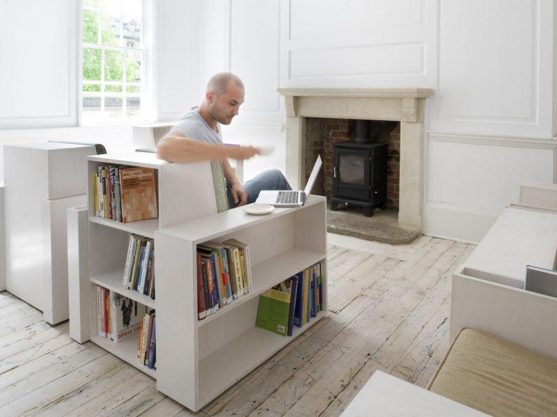 Идеи для хранения книг: варианты на все случаи жизни