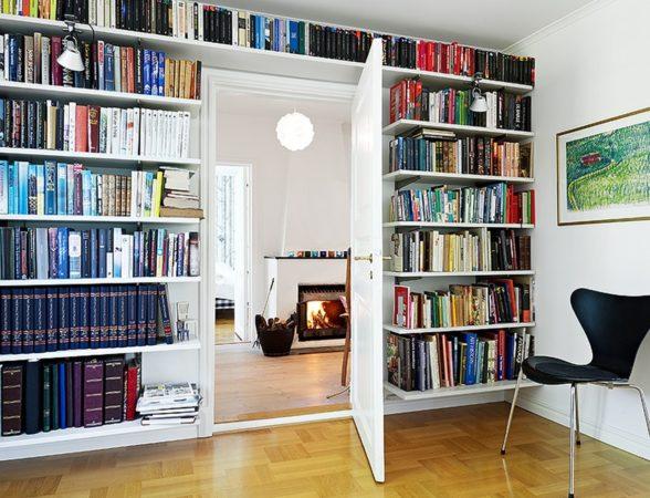 идеи для хранения книг