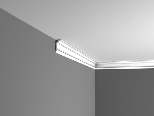 как скрыть кривой потолок