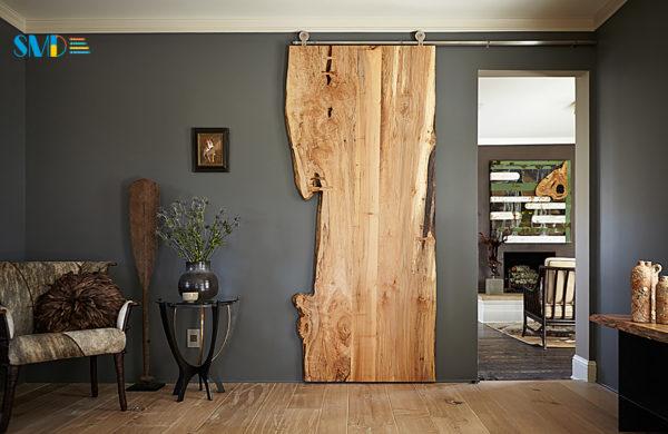 Необычная межкомнатная дверь