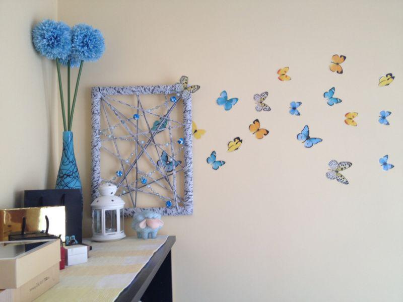 Украшения для комнаты своими руками: оригинальный декор из подручных материалов